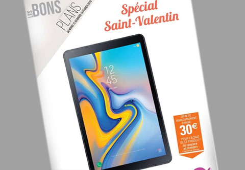catalogue Bons plans Saint-Valentin